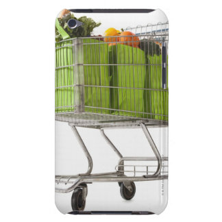 Grocery cart full of bagged produce iPod touch cover