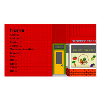Grocery Front- Business Card