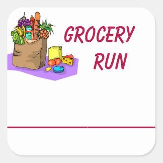 Grocery Shopping Planner Sticker
