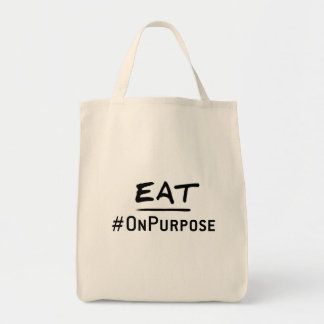Grocery Tote #EatOnPurpose