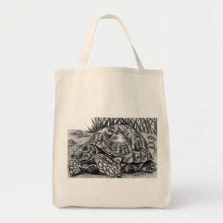 Grocery tote tortoise