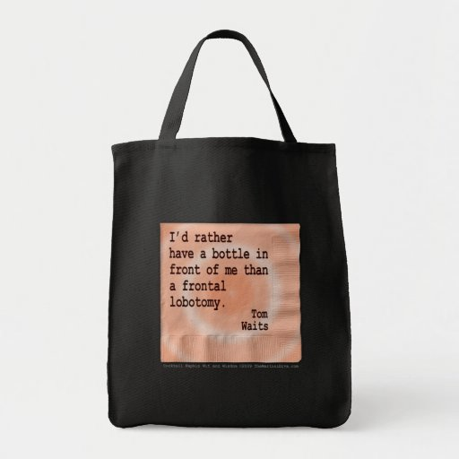 Grocery Totes - Frontal Lobotomy Grocery Tote Bag