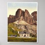 Grodnerjoch, hospice and Sella, Tyrol, Austro-Hung