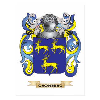 Gronberg Coat of Arms (Family Crest) Postcards