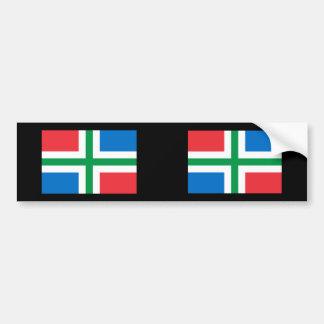Groningen Netherlands Bumper Sticker