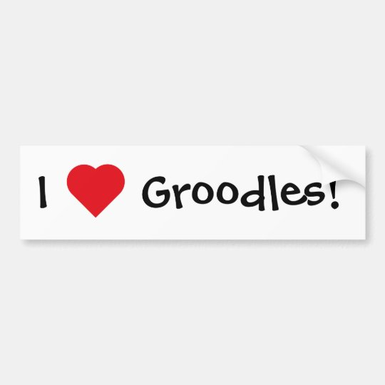 Groodles! Bumper Sticker