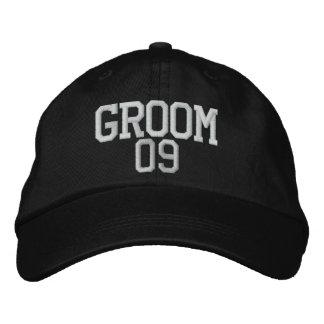 Groom: 09 Customizable Wedding Hat Embroidered Cap