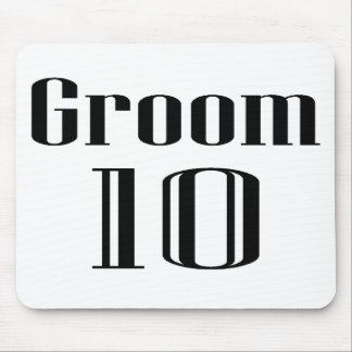 Groom 10 mouse pad