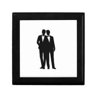 Groom and Groom Wedding Gift Box