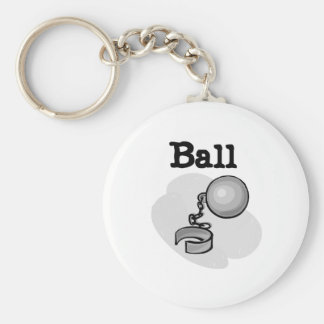 Groom Ball and Chain Tshirts and Gifts Keychains
