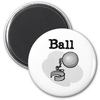 Groom Ball and Chain Tshirts and Gifts Magnet