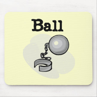 Groom Ball and Chain Tshirts and Gifts Mousepads