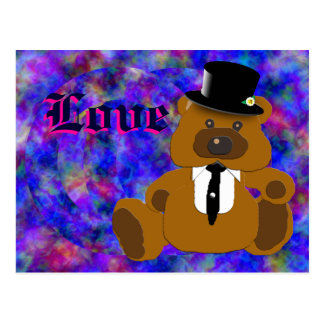 Groom Bear Collection Postcard