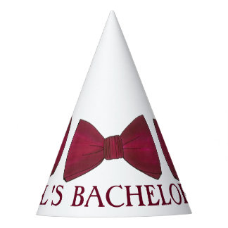 Groom Bow Tie Ties Bachelor Party Wedding Party Hat