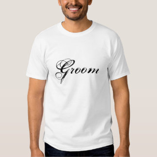 Groom Bridal Party Wedding T-Shirt