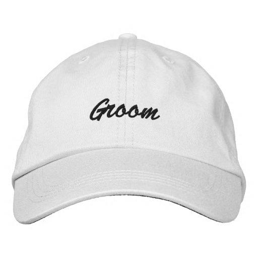 Groom Cap Embroidered Baseball Caps