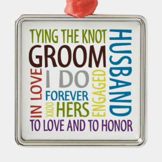 Groom Christmas Ornament