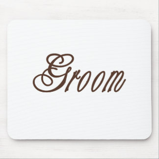 Groom Classy Browns Mouse Pads