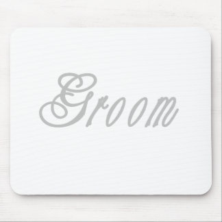 Groom Classy Grays Mouse Pads