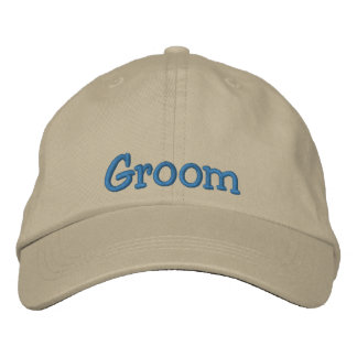 Groom Embroidered Cap Embroidered Baseball Cap