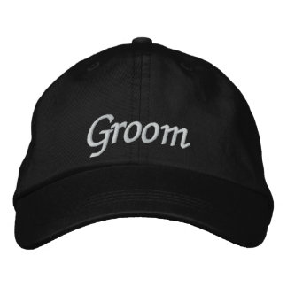 Groom Embroidered Wedding Baseball Cap/Hat Embroidered Baseball Caps