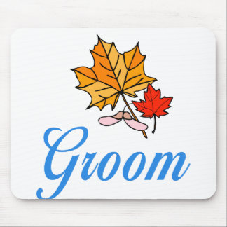 Groom - fall mouse mat