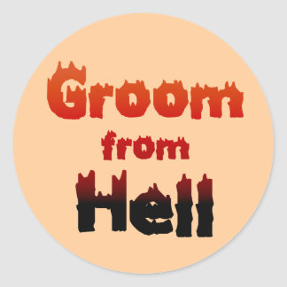 Groom from Hell Stickers