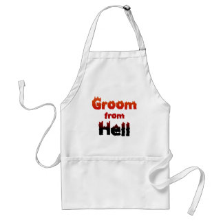 Groom from Hell T-shirts and Gifts Apron