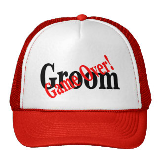 Groom (Game Over Red) Cap