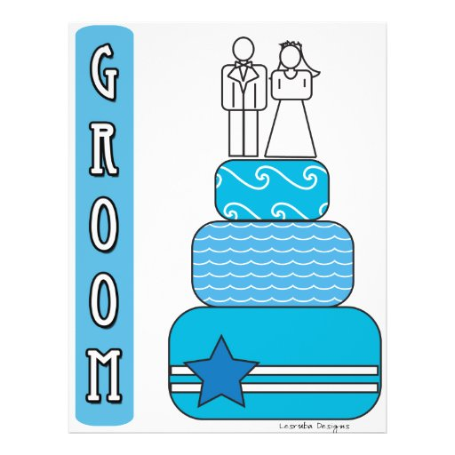 Groom Gifts and Favors Flyer