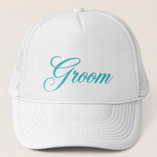 Groom Hat in Blue