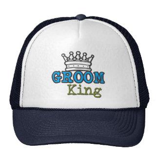 Groom King Cap