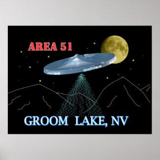 Groom Lake NV Posters