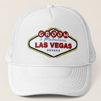 GROOM Of Las Vegas Cap