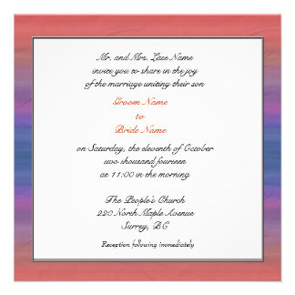 Groom parent s wedding invitations personalized announcements