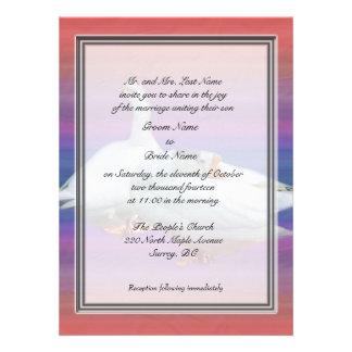 Groom parent's wedding invitations invites