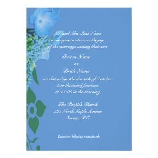 Groom parents wedding invitations announcements