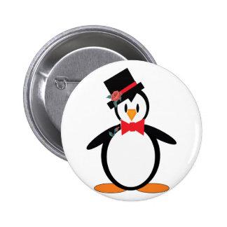 Groom-Pengo 6 Cm Round Badge