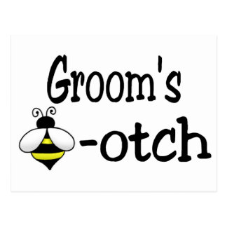 Groom s Bee-otch Post Cards