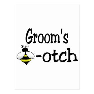 Groom s Bee-otch Postcards