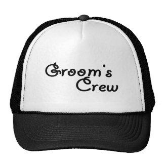 """Groom""""s Crew Mesh Hat"""