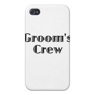 Groom s Crew iPhone 4 Cases