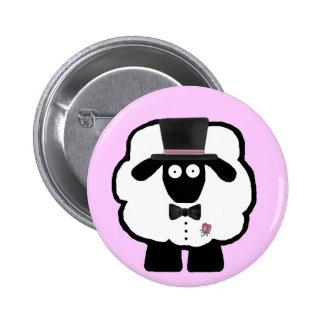 Groom Sheep Button