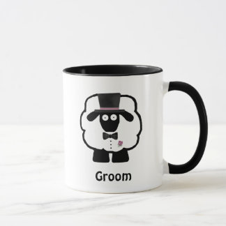 Groom Sheep Coffee Mug