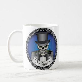 Groom Skull Mug