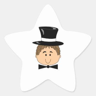 GROOM STAR STICKER