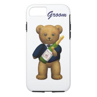 Groom Teddy Bear iPhone 8/7 Case