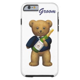 Groom Teddy Bear Tough iPhone 6 Case
