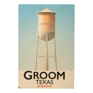 Groom Texas Route 66 Americana travel print