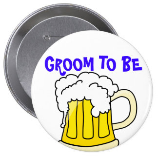 GROOM TO BE badge